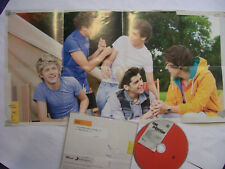 ONE DIRECTION Live While We're Young – 2012 UK CD POSTER-SLEEVE – Pop – BARGAIN!