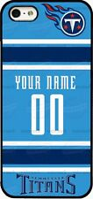 TENNESSEE TITANS PHONE CASE COVER FITS iPHONE SAMSUNG etc CUSTOM NAME & #.