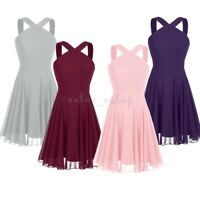 Short Prom Dress Wedding Bridesmaid Party Cocktail Graduation Formal Mini Dress