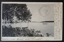 DEXTER, MAINE. C.1905 PC. VIEW FROM THE CLUB HOUSE