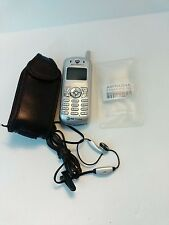 New Vintage Motorola Cell phone original ear bud/mike and 'attach to belt' cover