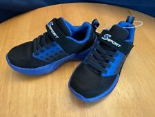 S Sport by Skechers Chrys Black & Blue Athletic Shoe Toddler Boys' - Choose Size
