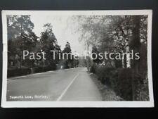 Birmingham SOLIHULL SHIRLEY Tanworth Lane c1955 RP by Williams of Shirley
