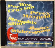 Blues from Dolphin's of Hollywood CD NICE Pee Wee Crayton Percy Mayfield More