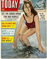 CHRISTINE KEELER Profumo Affair ARTHUR ASKEY Ann Jones 1960's Today magazine VTG