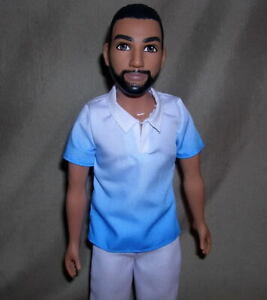 Barbie Ken SIZE FASHION DOLL with BEARD New w/o Packaging  ET701
