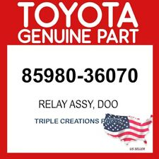 TOYOTA GENUINE 8598036070 RELAY ASSY, DOOR CONTROL, NO.2 (FOR AUTOMATIC DOOR)