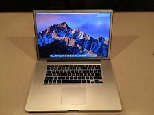 "MacBook Pro Core i7 2.2 GHz 17"" 8GB Memory 500GB HD (Early-2011) (MC725LL/A)"