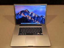"MacBook Pro Core i7 2.2 GHz 17"" 8GB Memory 500GB HD (Early-2011) (MC725LL/A)"