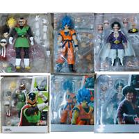 SHF Dragon Ball Figure Son Goku Super Saiyan Blue Hair Gokou Saiyaman Gohan Herc