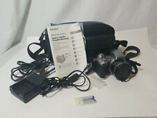 Sony Cyber Shot Camera DSC-H1 Super Steady Shot 12X Optical Zoom + Case Tested