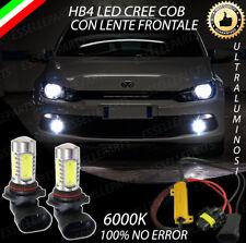 COPPIA LAMPADE FENDINEBBIA HB4 LED CREE COB CANBUS VW SCIROCCO 100% NO ERROR