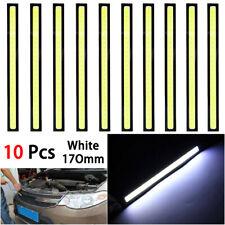 10Pcs 12V LED COB Car Auto DRL Driving Daytime Running Lamp Fog Light Waterproof