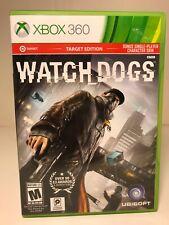 Watch Dogs (Microsoft Xbox 360, 2014) Target Edition Bonus Skin