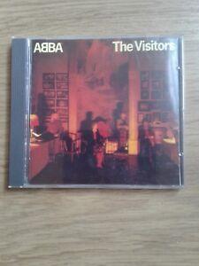 ABBA -THE VISITORS ORIGINAL CD ALBUM  RARE  (800 011-2) W GERMAN PRESSING