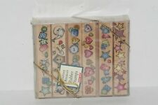 Hero Arts Buttons & Bows Borders Set Of Six Rubber Stamp Ll404