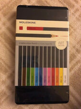 NEW Moleskine Watercolor Pencils 12 Colors ART COLLECTION SEALED