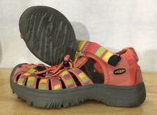 KEEN Shoes Girls Size 10 Multivolored Walking Hiking Waterproof