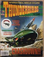 THUNDERBIRDS The Comic #2 November 2nd 1991 UK color magazine