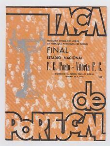 Orig.PRG   Portugal Cup  1967/68  FINAL  FC PORTO - VITORIA SETUBAL  !!  RARITY