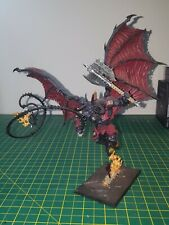 Warhammer 40k AoS BLOODTHIRSTER Chaos Daemons Khorne Games Workshop part Painted