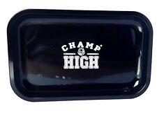 """Drehtablett """" CHAMP HIG H """" Rolling Tray Tablett von Champl klein 27,5 x 17,5"""