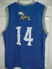 SUGAR LAND SKEETERS 14 Boy's Blue Promotional Basketball Jersey XL (Youth)