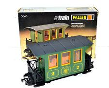 "Faller Play/E-Train/Spur 0  "" Personenwagen 2.Klasse - Nr.: 3643 """