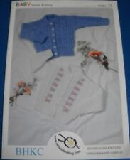 BHKC Baby Tyrolean Style Cardigans Knitting Pattern 24