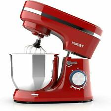 Electric Tilt-Head Countertop Food Stand Mixer 8 Speeds 4.7Qt Home Kitchen Red
