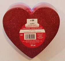 Creatology Valentine's day Red, purple, pink heart foam shapes. Ages 3+