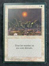 MTG Magic The Gathering Armageddon Revised FBB FRENCH  LP