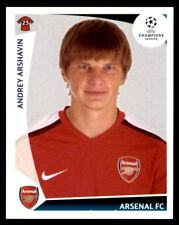 Panini Champions League 2009-2010 Andrey Arshavin Arsenal FC No. 494