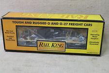 MTH Rail King O/O-27 1998 Christmas Holiday Reefer Box Car #30-7426 BNIB VTG FS