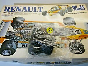 Tamiya 1:12 Vintage Renault RE20 Turbo Set of Front & Rear Tyres only - New