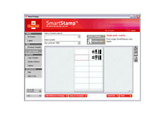 100 Royal Mail SmartStamp Logo Address Labels / Stickers - (10 x A4 sheets)