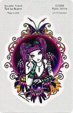 Emilicious Faery Fairy Sticker Car Decal Myka Jelina goth gothic pagan faerie