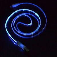 Cavetto Ricarica e dati Cavo Micro USB a LED Blu per Samsung Galaxy S6 Edge