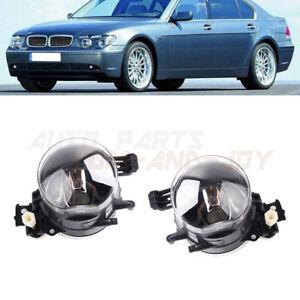 Pair of Fog Light Lamp Right + Left without Bulb For BMW E65 E66 745i 750i 750Li