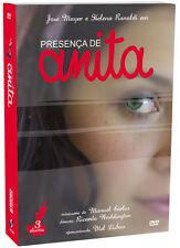 PRESENCA DE ANITA = 3 DVDs BOX minisserie TV Globo Presença dvd ORIGINAL LACRADO