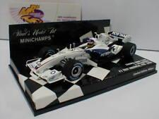 1 43 MINICHAMPS sauber BMW C24b F1 Test Valencia Villeneuve 2006