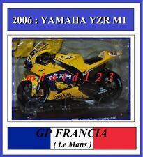 1/18 - ROSSI - YAMAHA YZR M1 - 2006 Le Mans - Die-cast