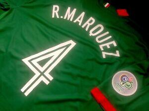 Jersey mexico Rafael Marquez nike 2006 (M) world cup 2006 barcelona green shirt