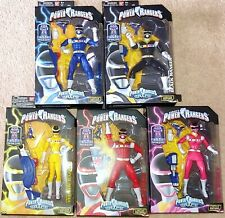 Lot of 5 Bandai Legacy Power Rangers in Space figures MISB