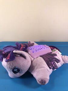 My Little Pony Dream Lites Rainbow Purple Pillow Pets Light Up Plush Night Light