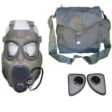 Military Czech Gas Mask M10M Hydration Straw Filters Bag Emergency Survival Nbc