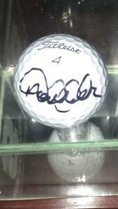 Derek jeter Signed Titleist Golfball Psa