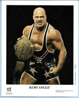 WWE KURT ANGLE P-1092 AUTHENTIC LICENSED 8X10 PROMO PHOTO VERY RARE