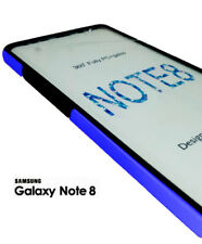 FUNDA DOBLE CARA SAMSUNG GALAXY NOTE 8 AZUL GEL TPU 360 TAPA PROTECTOR PANTAL