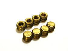 "Weatherhead Brass Hex Socket Plugs 1/8"" (8)"